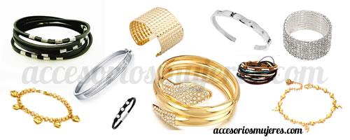 Brazaletes y pulseras para mujeres, accesorios que no pasan de moda