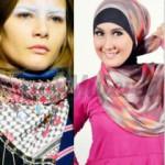 Pañuelos, pashminas y palestinas