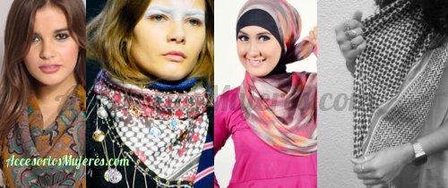 pañuelos pashminas palestinas